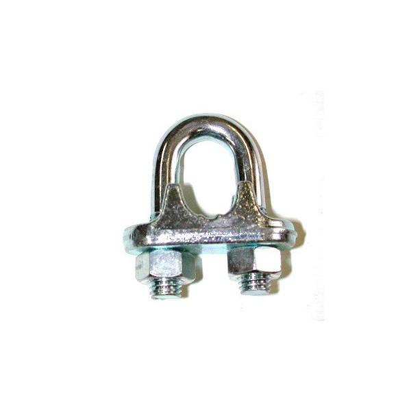 Serre câbles à étrier galvanisés de 45-50 SN° 158-1