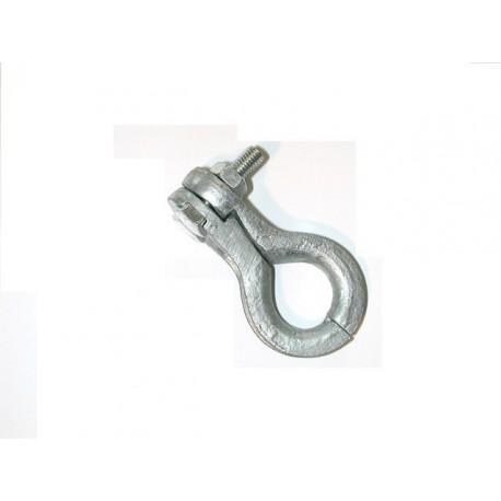 Cosse serre câble galvanisée pour cable diamètre 5à 6 mm SN° 152