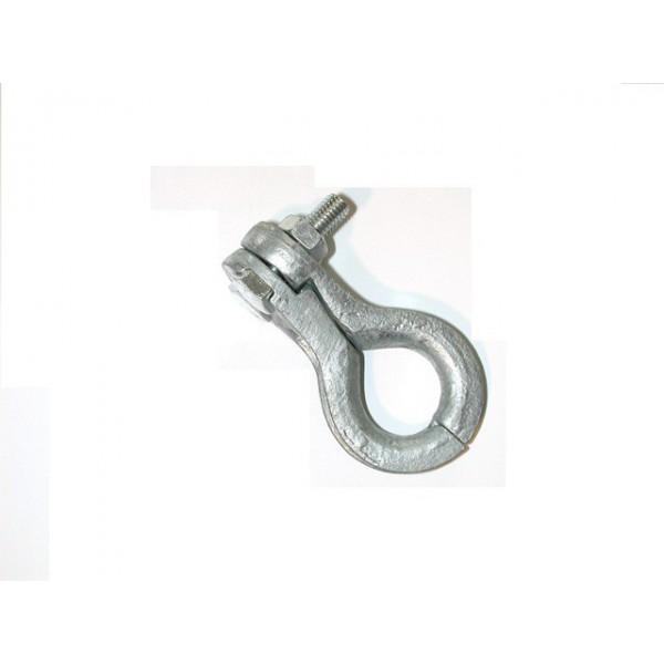 Cosse serre câble galvanisé pour cable de diamètre 7 à 9.5 mm SN° 152