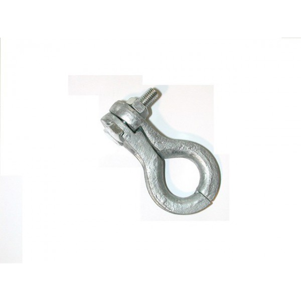 Cosse serre câble galvanisé pour cable de diamètre 13 à 16.5 mm SN° 152