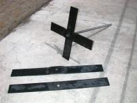 Clé de tirant en fer plat de 100 x10 longueur 600 mm   SN° 55