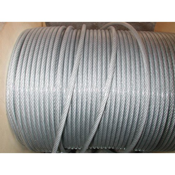 Câble galvanisé diamètre 3 avec gaine plastique de 4 mm longueur 50 métres SN° 678-1