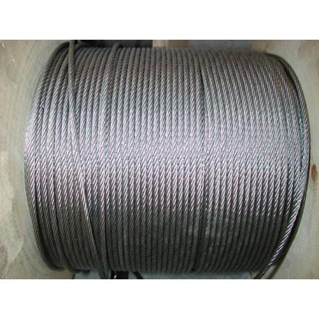 Câble en acier inox diamètre 2 longueur 50 métres SN° 679