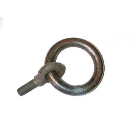 Piton tige courte avec anneau enfilé type 16C fileté SN° 623