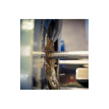 Tige à filetage trapézoïdal Diamètre 28 INOX A2 SN° 481-5