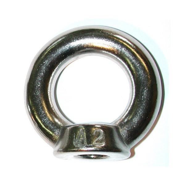 Anneau femelle diamètre 10 taraudé en inox DIN 582 SN° 247-5