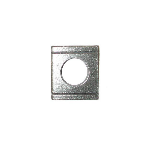 Cale biaise inox pente 8 % pour boulon diamètre 22 SN° 532-15