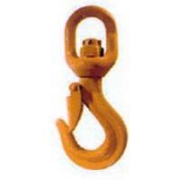 Crochet à émerillon à linguet de sécurité pour chaîne de 13 SN°690-008