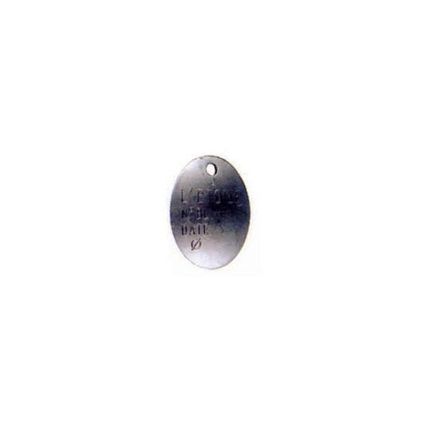 Plaque d'identifiaction SN°690-015