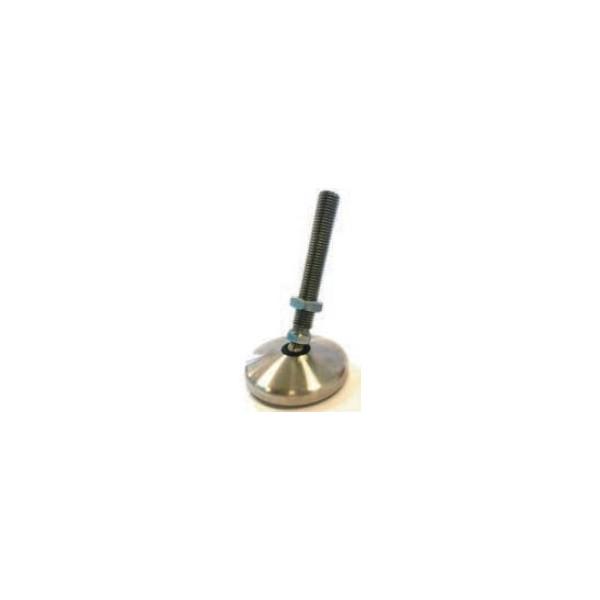 Pied articulé de calage inoxydable à embase tournante diamètre 20 SN°455-5