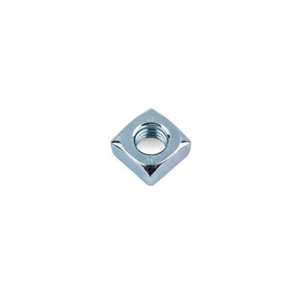 Ecrou carré din 557 zingué à taraudage ISO Diamètre 6 SN° 517