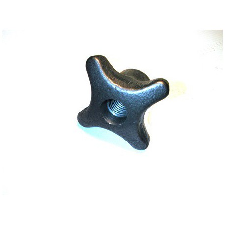 Ecrou à crosillon taraudé à 6 ISO trou débouchant SN° 284-1