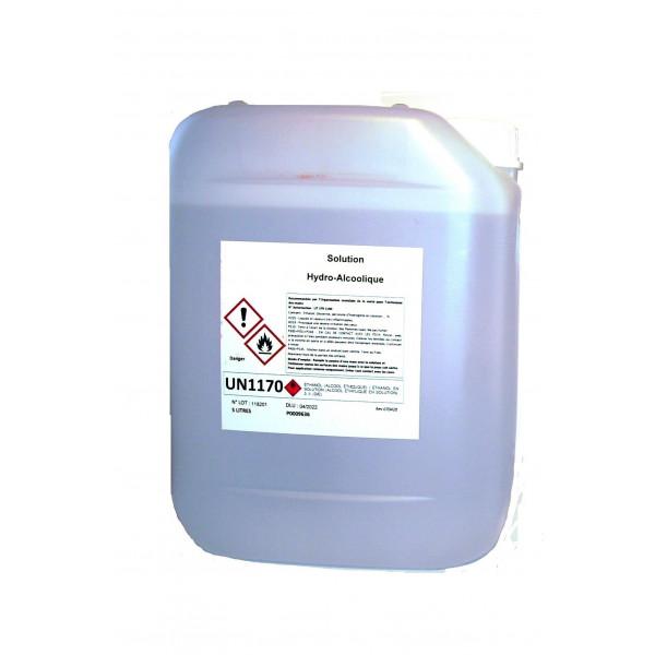 Solution Hydro-Alcoolique bidon de 5 litres