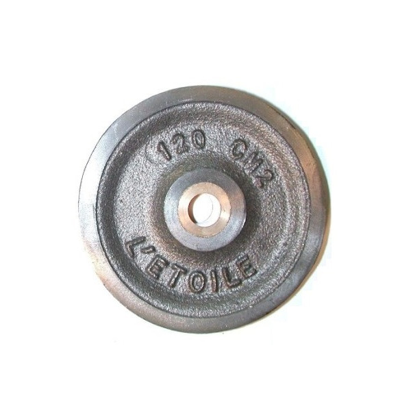 Réa acier de 355 CM usiné bague bronze SN° 911 2