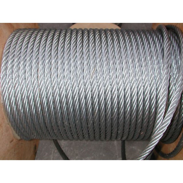 Métre de câble en acier galvanisé diamètre 2 SN°678