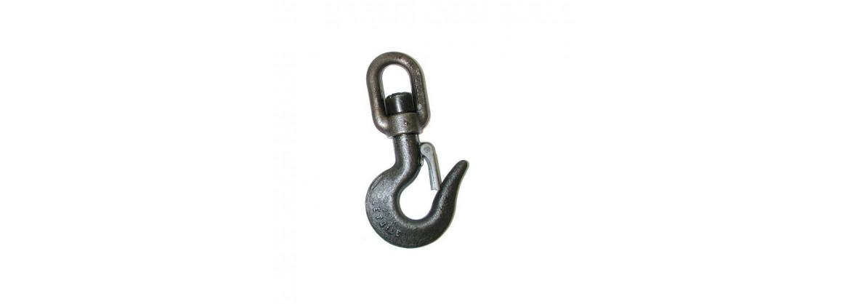 Crochet à émerillon à linguet de sécurité SN° 342-2