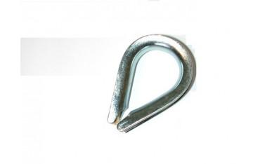 Cosse coeur galvanisée SN° 142-1
