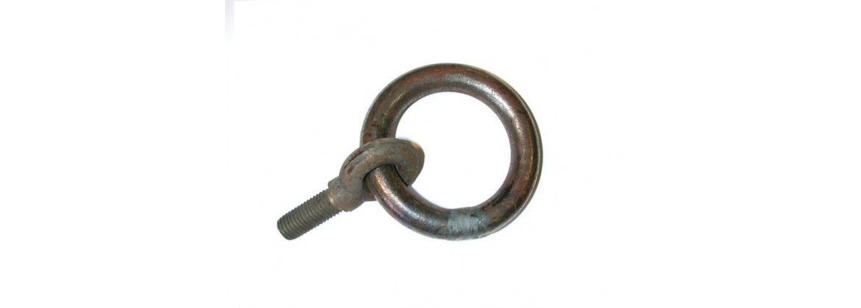 Pitons à tige courte avec anneau enfilé SN° 623