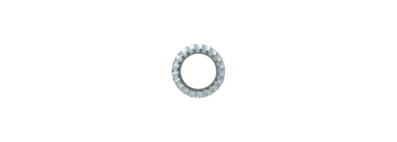Rondelle dentelée SN° 522