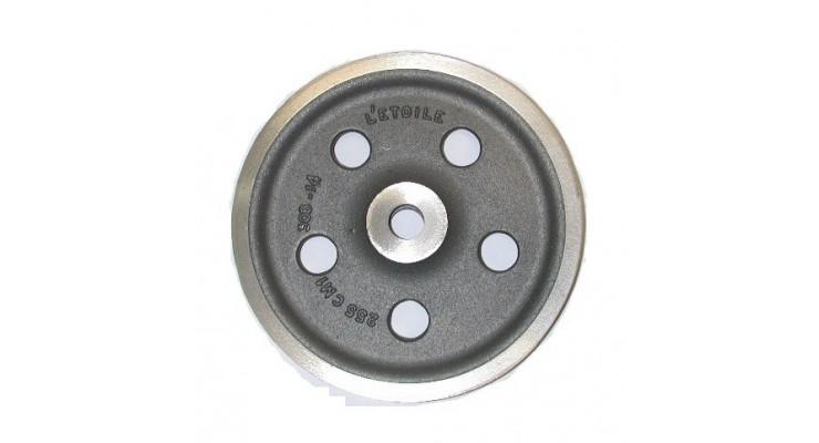 Réa en fonte pour câble métallique   SN° 911 1
