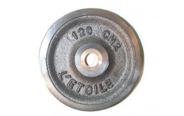 Réa en acier ,bague bronze pour câble métallique SN° 911 2