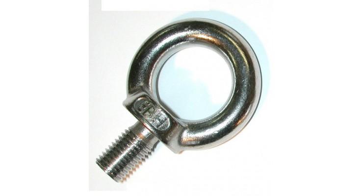 Anneau mâle DIN  580 inox A2  N° 246-5