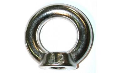 Anneau femelle DIN 582 inox A2 N° 247-5