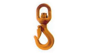 Crochet à émerillon à linguet de sécurité SN° 690-008