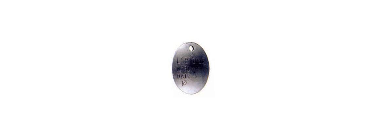 Plaque d'identification SN° 690-015
