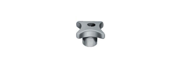 Ecrou à croisillon taraudé ISO à serrage rapide SN° 284-3