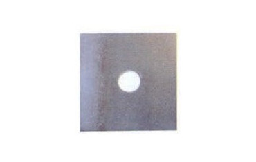 Plaque carrée brute SN° 528