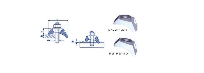 Crapaud auto-ajustable BK1 SN° 575