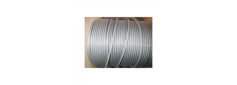 Câble galvanisé avec gaine plastique longueur 50 métres SN° 678-1