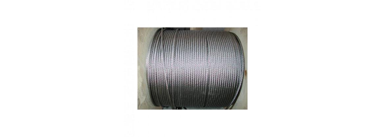 Câble en acier inox longueur 50 métres SN° 679