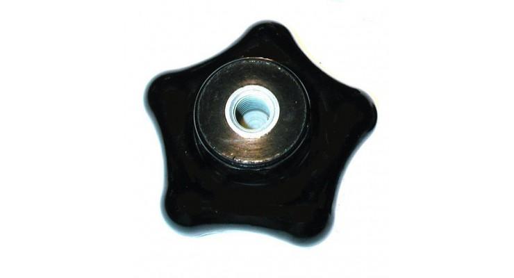 Bouton en forme d'étoile en bakélite    SN° 826-0